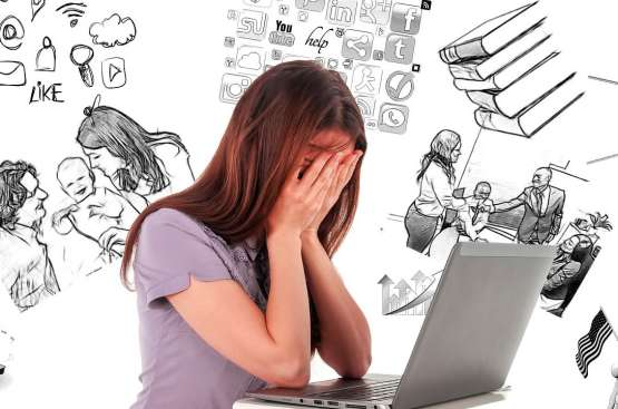 Stress leads in cause of UK health issues